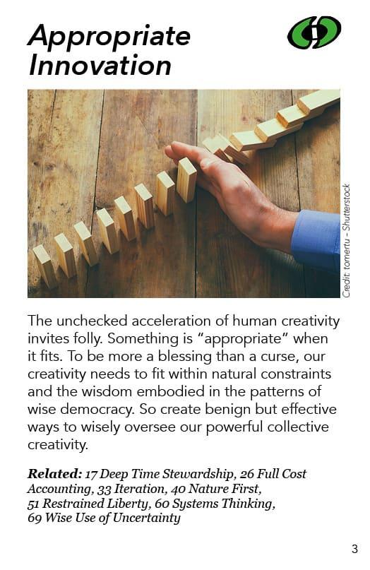 3-Appropriate Innovation