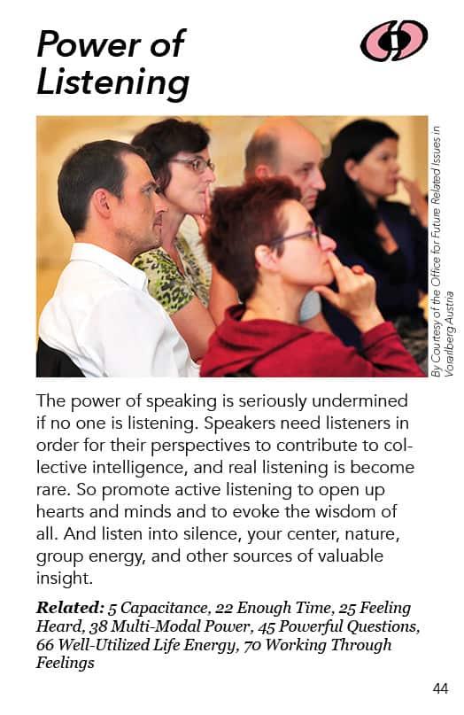 44 – Power of Listening