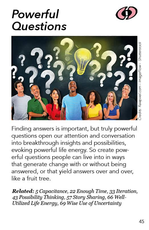 45 – Powerful Questions
