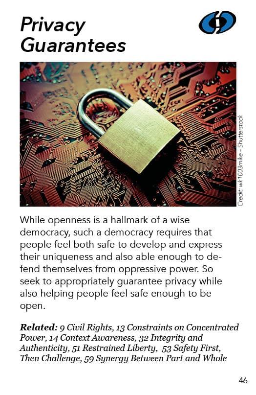 46 – Privacy Guarantees