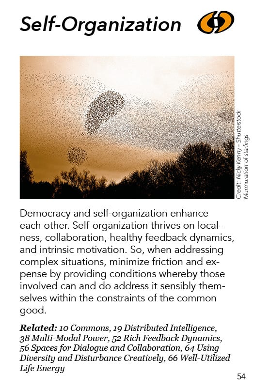 54 – Self-Organization