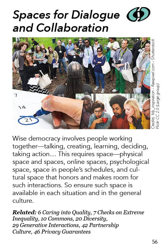 56 – Spaces for Dialogue and Collaboration