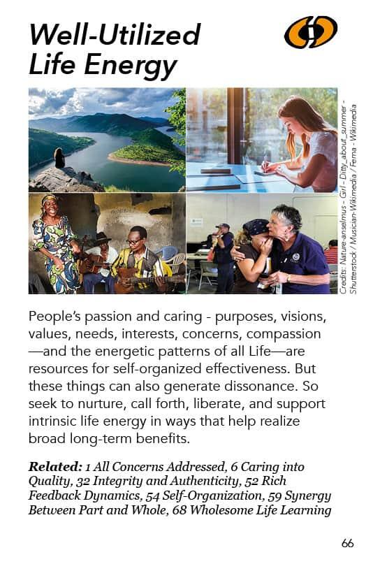 66 – Well-Utilized Life Energy