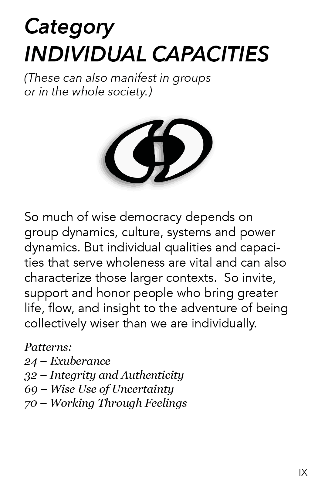 AA - 9 - Individual Capacities
